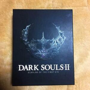 DARK SOULS 2 SCHOLAR OF THE FIRST SIN (BOOKLET JAPAN EDITION) JP NEW