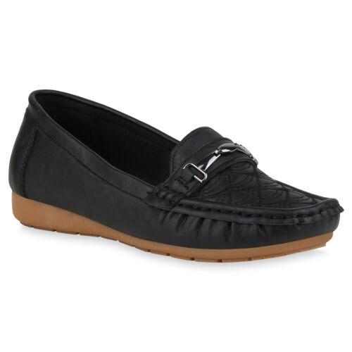 Damen Slippers Mokassins Keilabsatz Schuhe Bequeme Slip Ons 830293 Schuhe