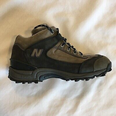 New Balance 971 Walking Trail Boots Shoes Womens Size 9 Ankle Gray Suede