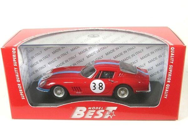 Ferrari 275 Gtb  4 Coupe No.38 1000 km Paris 1966 (Vestey - Calamba)