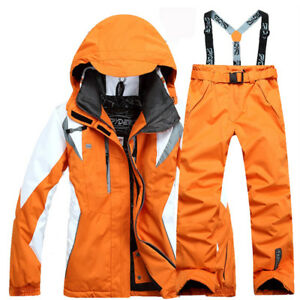 Women s Waterproof Outdoor Ski Suit Jacket Winter snowboard Coat ... 6b59c252c