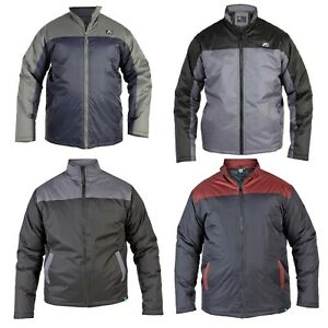 Mens-Big-Size-Long-Sleeve-Full-Zip-Lightweight-Jackets-Outdoor-Coat-King-Size
