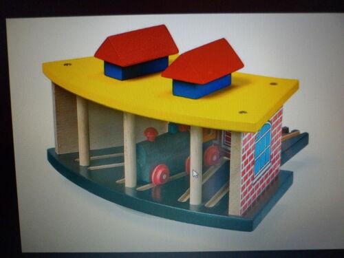 Legler 1516 hangar de locomotive jouet de bois nouvelles boîte