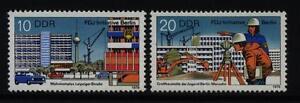 """DDR MiNr 2424-2425 """"FDJ-Initiative Berlin"""" -Bauwerke-Politik-Staat- - Bad Pyrmont, Deutschland - DDR MiNr 2424-2425 """"FDJ-Initiative Berlin"""" -Bauwerke-Politik-Staat- - Bad Pyrmont, Deutschland"""