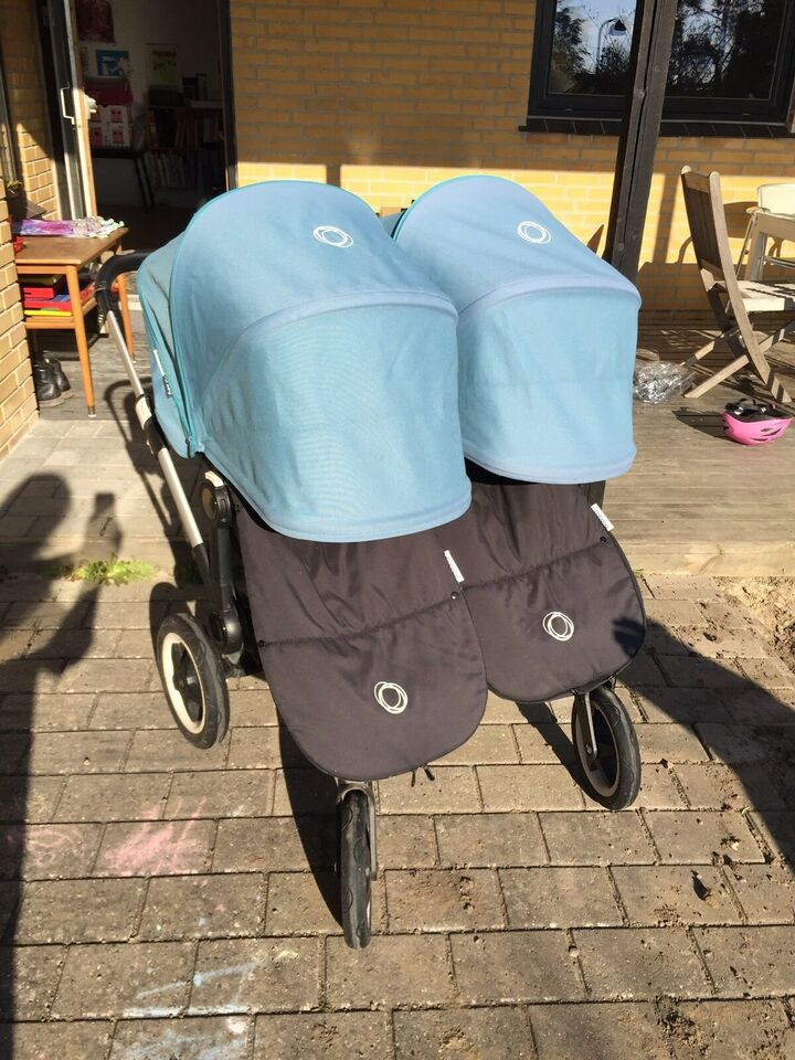 Kombivogn, tvillinge-, Bugaboo Donkey