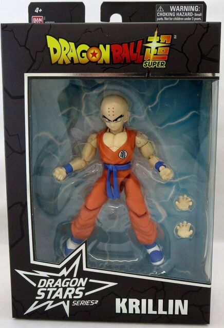 Bandai Dragon Ball Super Dragon Stars Krillin Action Figure