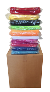 240 Microfiber 12 x12  Cleaning Auto Detailing Cloths MIXED COLORS PRO GRADE