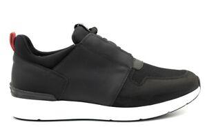 Scarpe-uomo-Nero-Giardini-A800582U-sneakers-casual-basse-sportive-pelle-nera-44