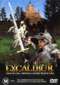 Excalibur-DVD-Region-Four-R4-FastNFree-Nigel-Terry-Nicol-Williamson-King-Arthur
