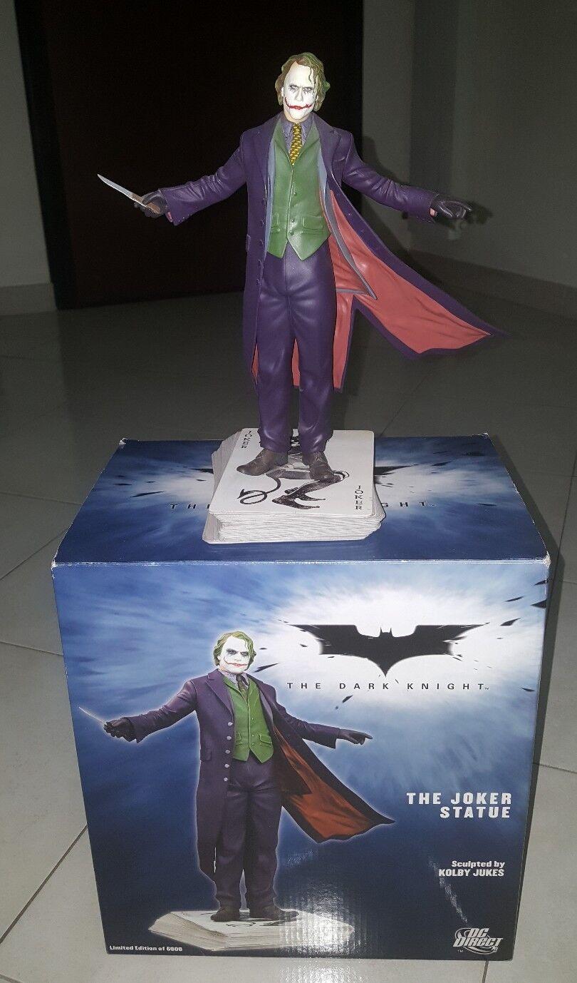 DC Comics.Dark Knight The Joker Statue Statue Statue f6b12c