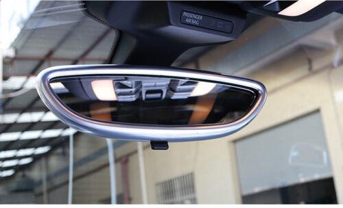 For Porsche Macan 15-18 ABS Car Interior Rear View Mirror Molding Cover Trim