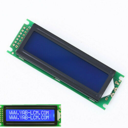 5V LCD1602 White Character LCD Display Module SPLC780C Controller Blue Backlight