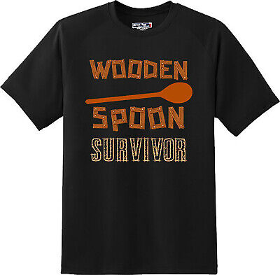 Wooden Spoon Survivor Youth T-Shirt Funny College Humor Tee Shirt