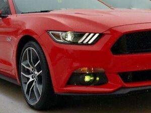 Image Is Loading 2017 2016 Mustang Fly Fog Lights Vinyl
