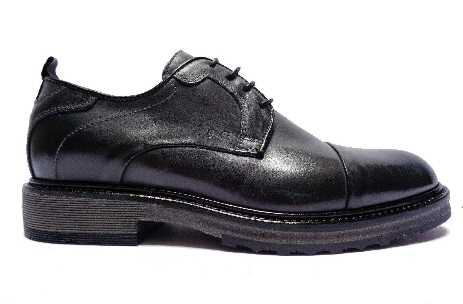 Scarpe uomo Nero Giardini 5510 scarpe basse stringate da uomo in pelle col. Blu | Esecuzione squisita  | Maschio/Ragazze Scarpa