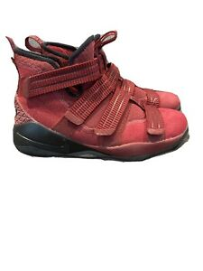 Nike-Lebron-Soldier-XI-11-Boy-039-s-Shoes-Size-6-5Y-EUR-39-Basketball-918369-002