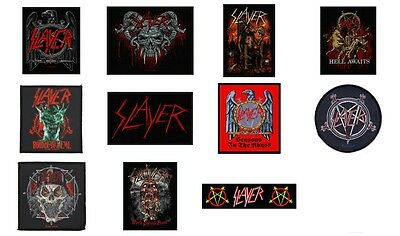 Slayer Sew On Patch/Patches NEW OFFICIAL. Choice of 10 designs