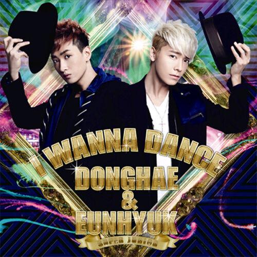 Free Gift Super Junior Donghae /& Eunhyuk I Wanna Dance CD