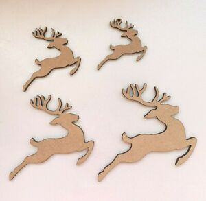 Laser Cut Wood MDF Snowflakes Nordic Craft Christmas 40mm to 100mm