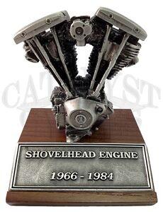 Details about Harley Davidson Motor Statue HD Motor Model Shovelhead Engine  Statue