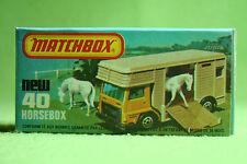 Modellauto - Matchbox - Superfast - Nr. 40 Horse Box - OVP