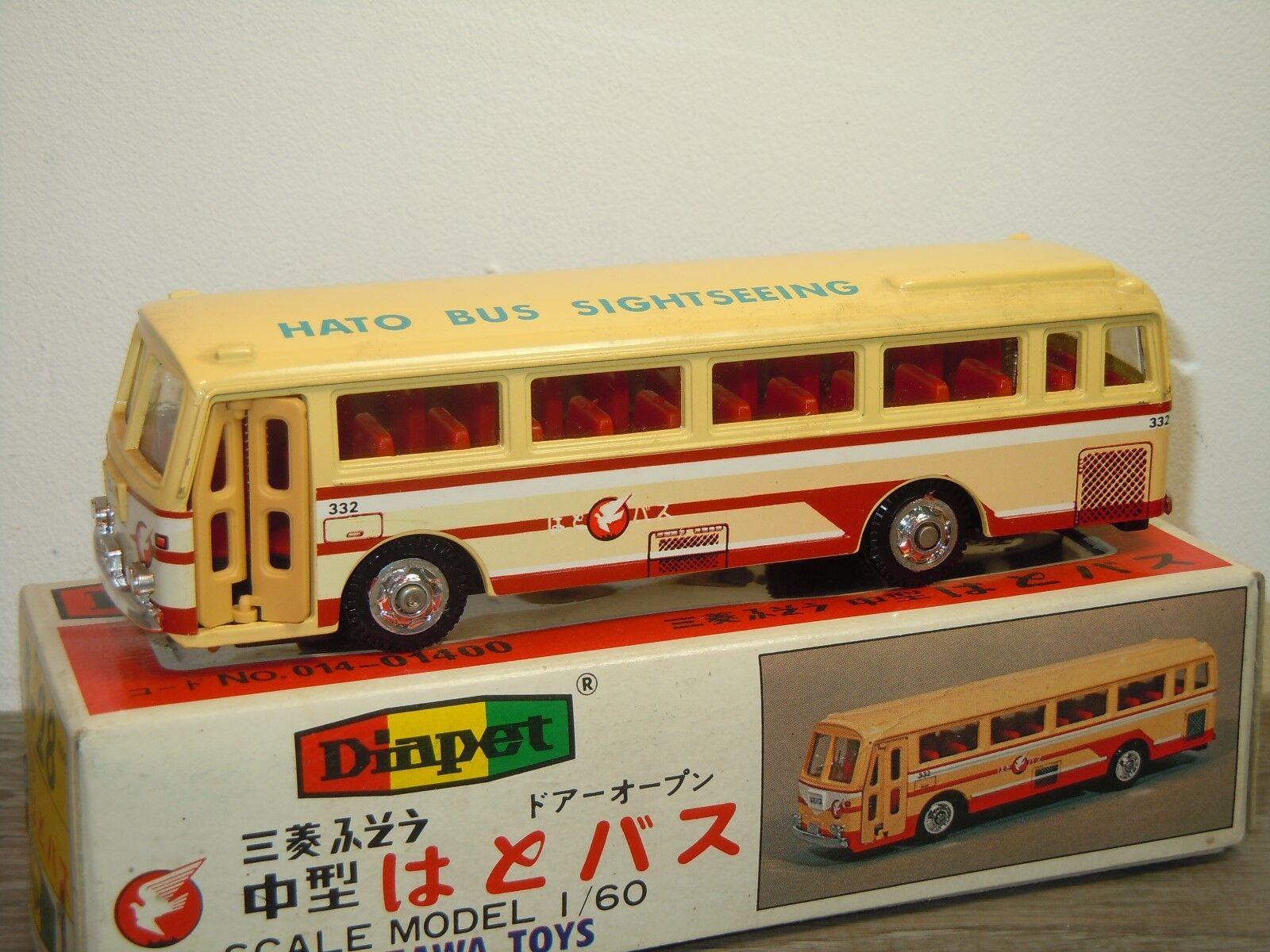 basta comprarlo Mitsubishi Fuso autobus  - Diapet Diapet Diapet Yonezawa giocattoli B-28 Japan 1 60 in scatola 35765  ottima selezione e consegna rapida
