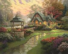 SCHMIDT JIGSAW PUZZLE MAKE A WISH COTTAGE THOMAS KINKADE 1000 PCS #58463