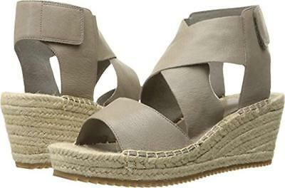 f501c44b53b NEW EILEEN FISHER Leather WILLOW Espadrille Strappy Wedge Sandals Sz 8.5  $198   eBay