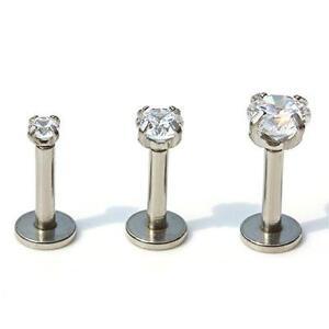 2mm-3-4-5mm-Gem-Triple-Helix-Tragus-Ear-Stud-Labret-Bar-Internally-Threaded-16g