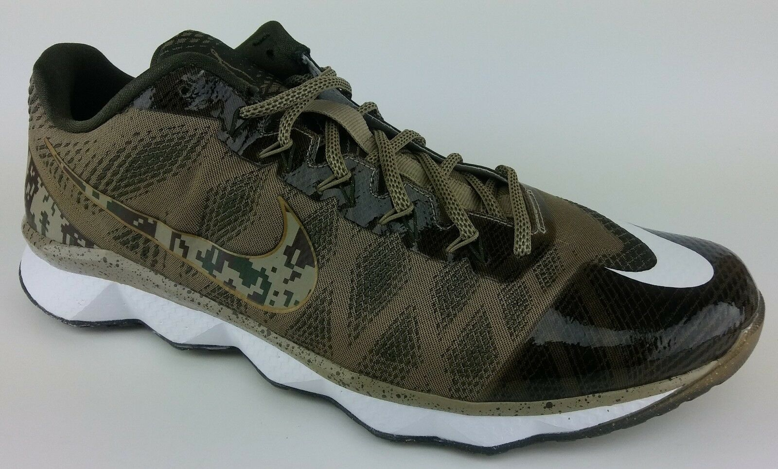 NIKE - CJ3 FLYWEAVE TRAINER SNEAKER -  Men Size 12 -  Brown