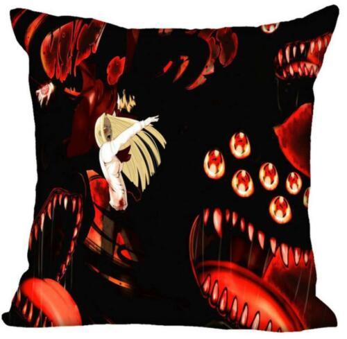 HEARMNY HELLSING Print Pillow Case For Home Decorative Car Sofa PillowsCover Y11