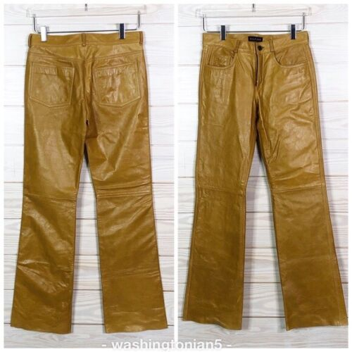 Tommy Hilfiger Genuine Leather Pants woman size 2