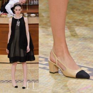 AU-Spring-Women-039-s-Sandals-Pumps-Leather-Slingbacks-Block-Heels-Elegant-Shoes