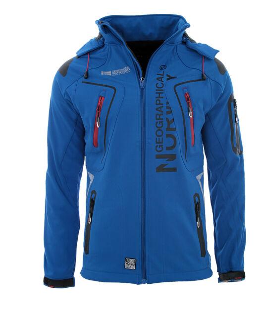 Geographical Norway chaqueta Softshell De Hombre lluvia sport Outdoor Otoño