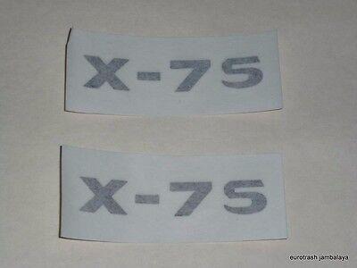 New Triumph X75 Hurricane 750 Side Cover Decal SET PAIR triple 83-4925 83-4926