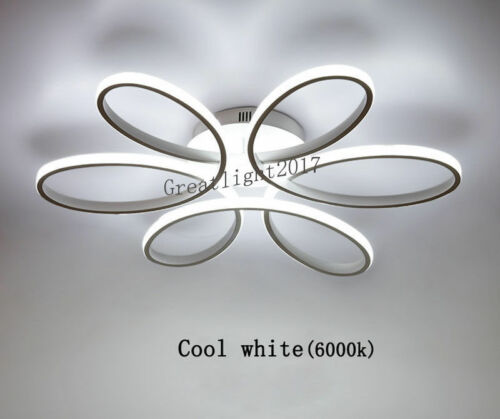 Ultrathin Romantic Flower Round Ceiling Light Led Curve Light Surface Mounted