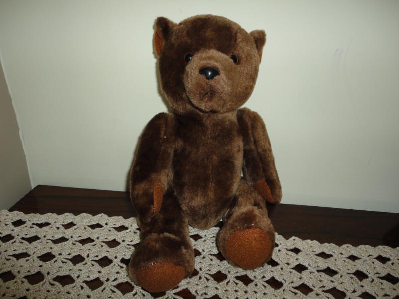 Ganz Chocolate marróne Vintage TEDDY BEAR