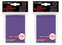 Ultra Pro Magic The Gathering 100 Deck Protectors Purple