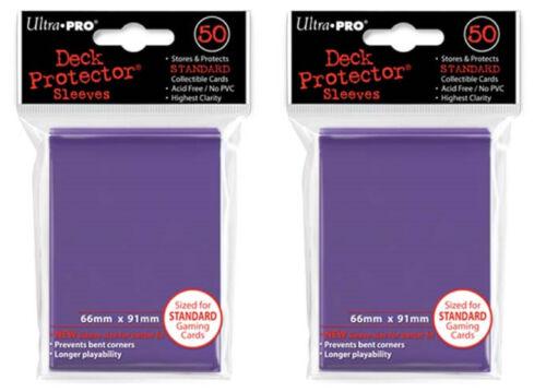 Ultra Pro Magic the Gathering 100 Deck Protectors Purple