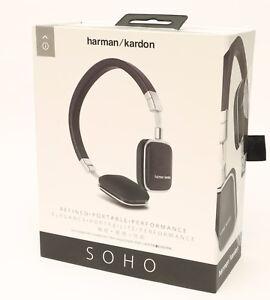 Harman-Kardon-SOHO-On-Ear-Kopfhoerer-NEU-gt-1-Jahr-Garantie-lt-Headphones-NEW