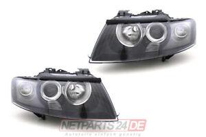 Audi-A4-Cabrio-Scheinwerfer-Satz-H7-H9-links-Und-rechts-8H-2002-2005-Neu-lager