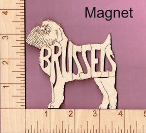 Basset Hound Dog laser cut and engraved wood Magnet Great Gift Idea