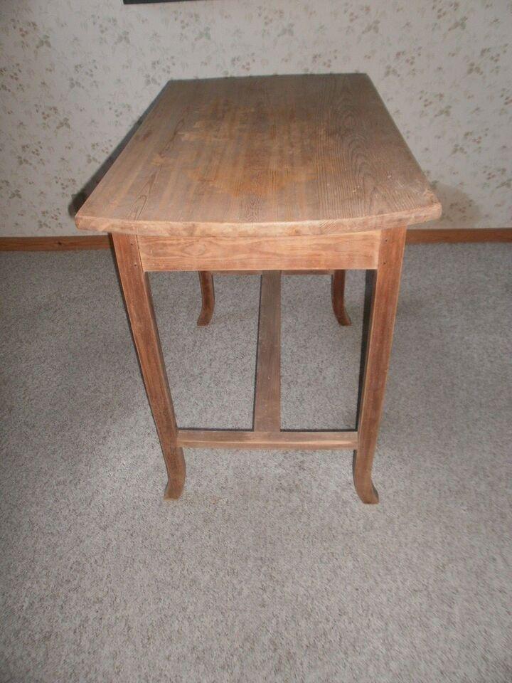 Køkkenbord, fyrretræ, b: 50 l: 85