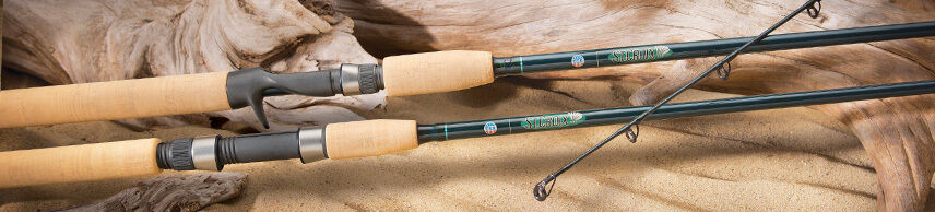 St. Croix Tidemaster Inshore Spinning Rod TIS76LM  - 7'6  Light Moderate 1-Piece  free shipping & exchanges.