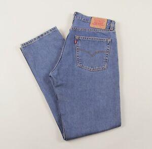 Levi-039-s-Vintage-521-02-Azul-Pierna-Recta-Jeans-para-hombre-36W-34L-36-34-J35040
