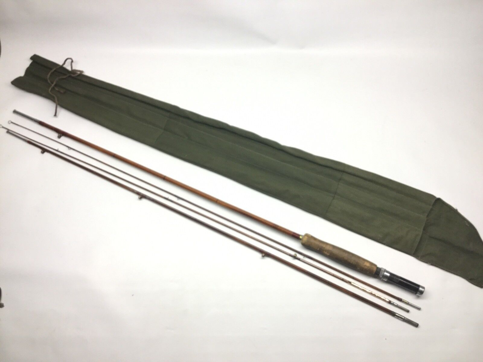 Vintage 9' Fly Fishing Rod 3 Piece & Tip