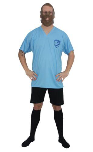 Les adultes URUGUAY FOOTBALL ICON Luis Suárez Kit Fancy Dress /& Morsure Museau