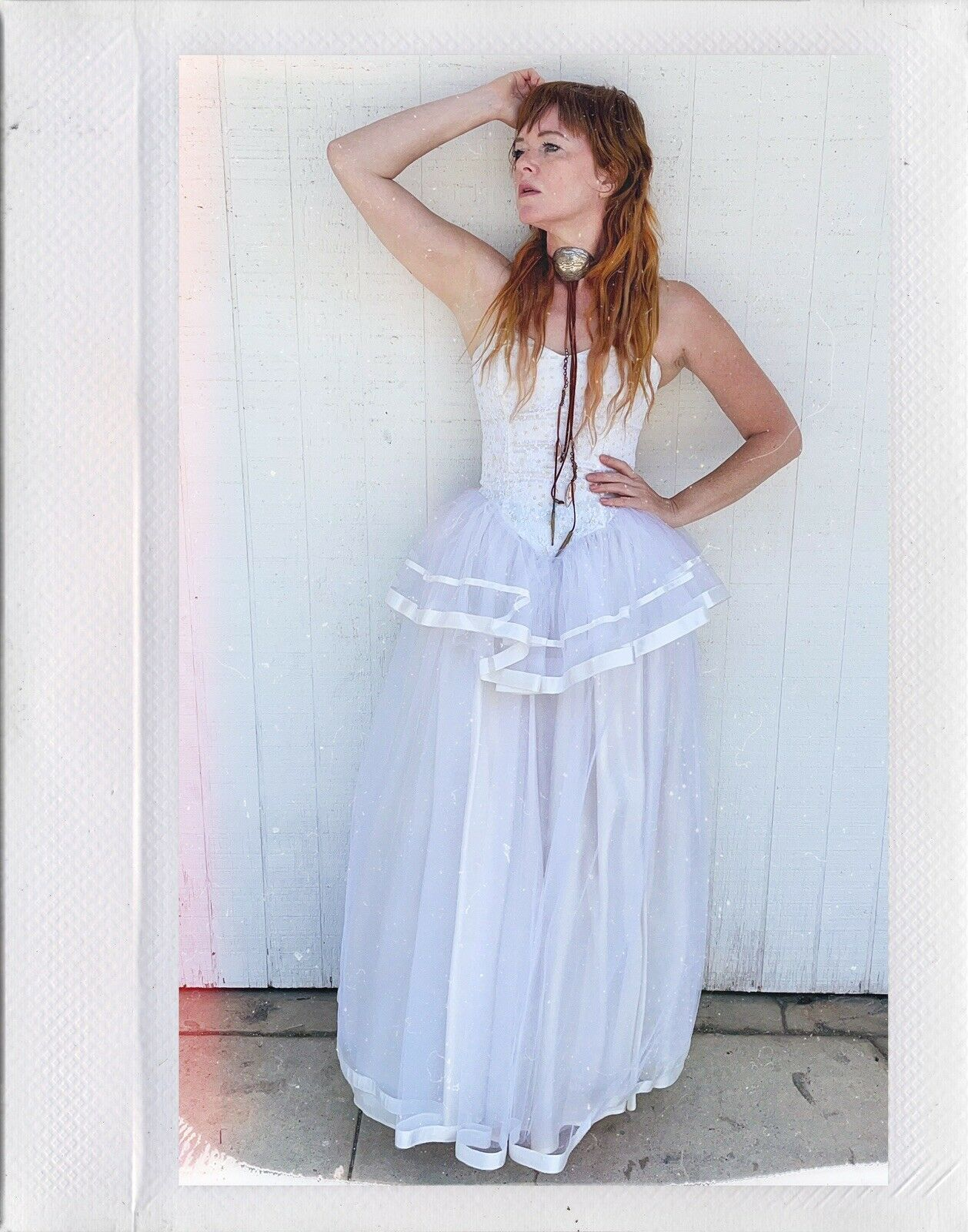 Vintage Gunne Sax Jessica McClintock Wedding Prom… - image 1