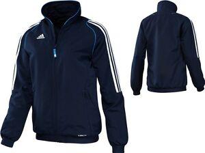 adidas-Damen-Trainingsjacke-blau-Sportsjacke-Damenjacke-Gr-34-40-42-44-46-50