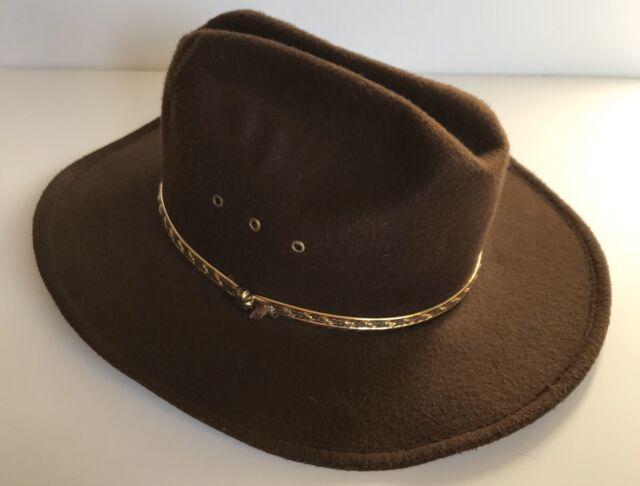 fashion styles a few days away many fashionable Western Express Inc. Brown Felt Cowboy Hat Band for sale online